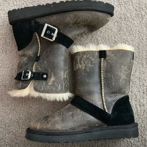 Ugg Australia buckle boots